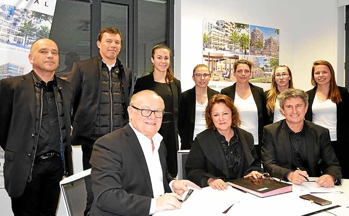 Un nouveau partenariat avec l'équipe féminine de football de l'US Saint-Malo.
