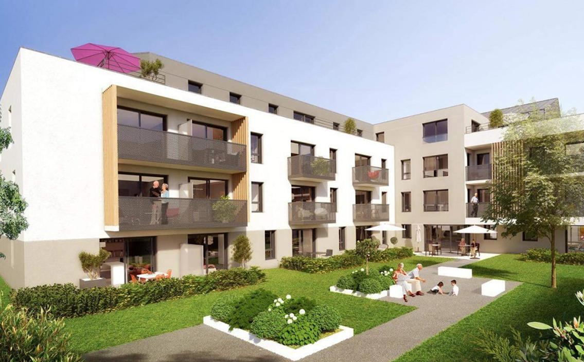 Inauguration du complexe résidentiel Ékip'Âge à Dinan.