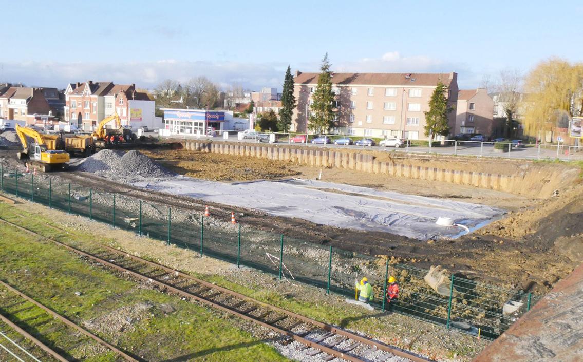 Démarrage des travaux du Pôle Gare d'Hazebrouck.