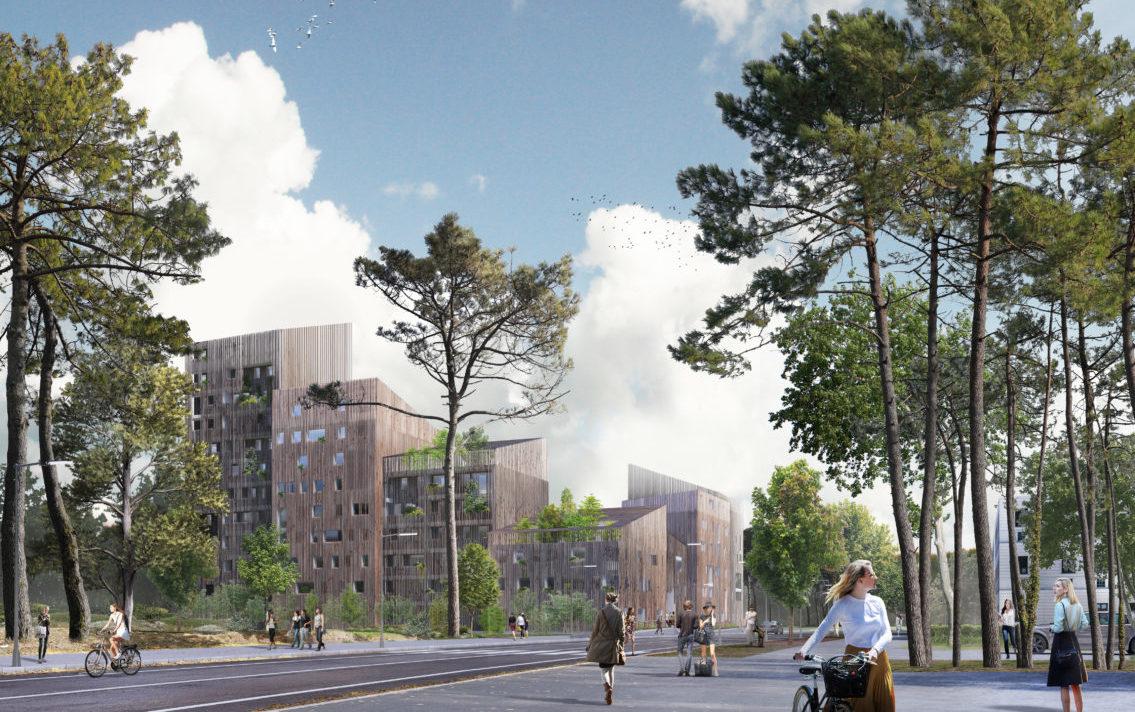 """Présentation du projet résidentiel """"Les Bois d'Angers"""" au grand public."""