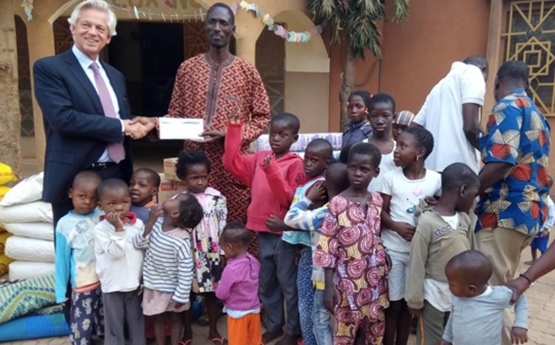 L'association Duval vient en aide aux enfants abandonnés d'Ouagadougou.