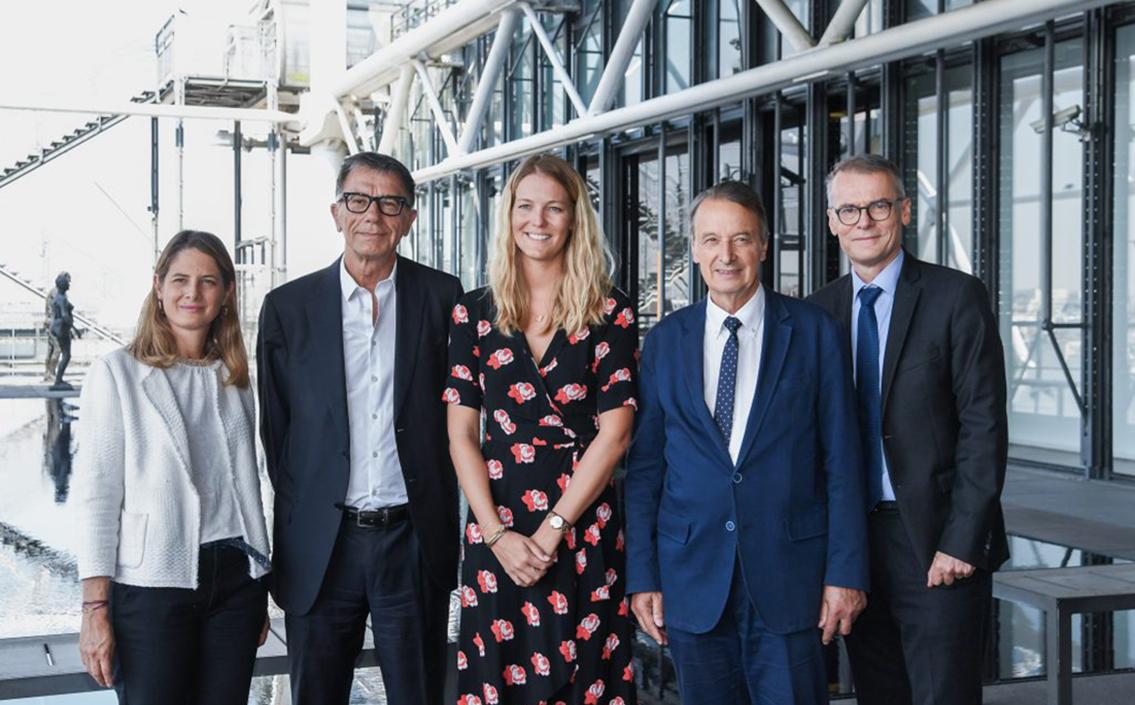 Signature d'une convention de partenariat triennal avec le Centre Pompidou.