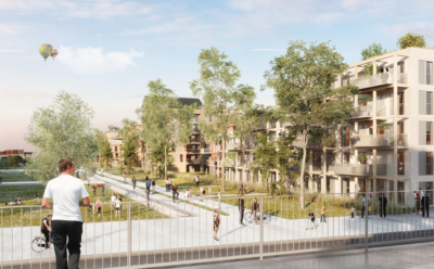 Lauréat du projet d'aménagement du secteur de la gare d'Amiens.