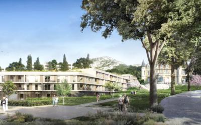Réalisation d'une nouvelle résidence Happy Senior à Marseille.