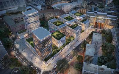 Le Groupe Duval, choisi pour la reconstruction du Forum de Lille.