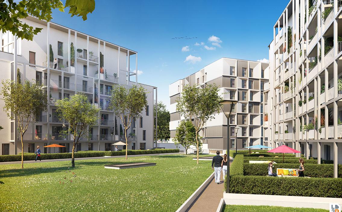 Lancement de la commercialisation de la résidence I.D. à Reims.