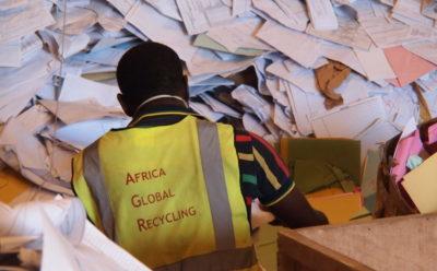 Prise de participation au capital de la société Africa Global Recycling.