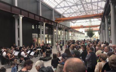La fête de la musique à Hall in One, Saint-Chamond (42)