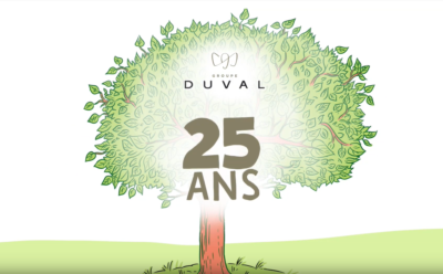 Le Groupe Duval fête ses 25 ans !