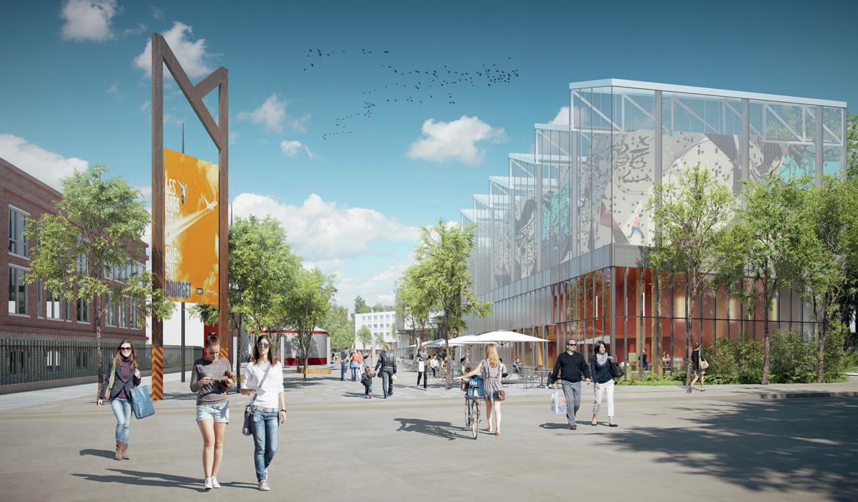 Lauréat sur le site du Bourget du concours Inventons la Métropole du Grand Paris 2.