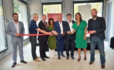 Inauguration des bureaux neufs Le Racine à Strasbourg.