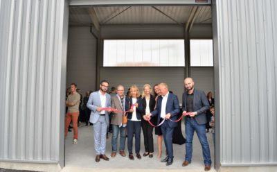 Inauguration du premier village Ecchobloc de l'Est de la France, Le Triangle.