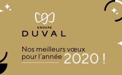 Nous vous présentons nos meilleurs vœux pour l'année 2020 !